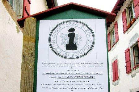 La maison du patrimoine à Ainhoa
