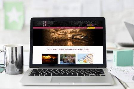 Site internet des Grottes de Sare